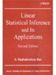 9789814126175: Linear Statistical Inference & Its Applications