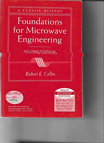 9789814126397: Foundations for Microwave Engineering