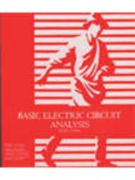 9789814126533: Basic Electric Circuit Analysis, 5ed