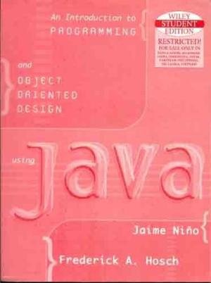 9789814126991: Introduction to Programming & Object Oriented Design Using Java