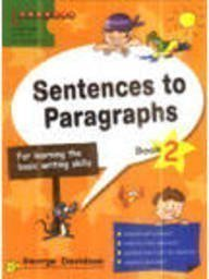 Sentences to Paragraphs: Book 2: Davidson, George