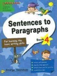 9789814133685: Sentences to Paragraphs Bk.4