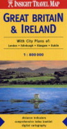 9789814137034: Great Britain and Ireland Insight Travel Map