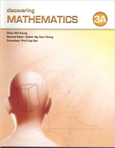 9789814176705: Discovering Mathematics, Level 3A: Textboook