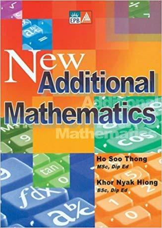 9789814210188: New Additional Mathematics