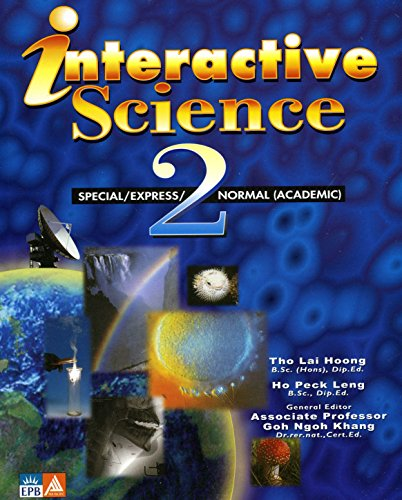 Textbook 2 Special/express Normal (Academic) (Interactive Science): Tho Lai Hoong,