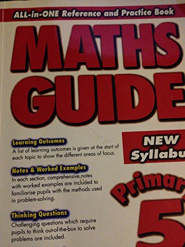 9789814238229: All-in-ONE Reference and Practice Book MATHS GUIDE Primary 5