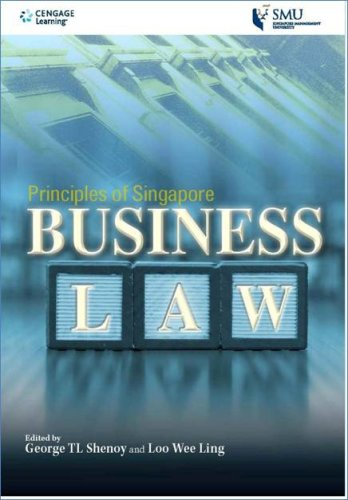 Principles of Singapore Business Law: George TL Shenoy