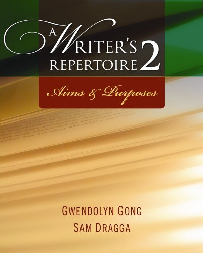 9789814246385: A Writer's Repertoire 2 : Aims and Purposes