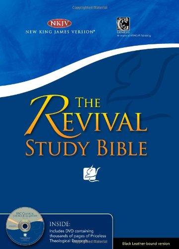 9789814270113: REVIVAL STUDY BIBLE BLK LTH