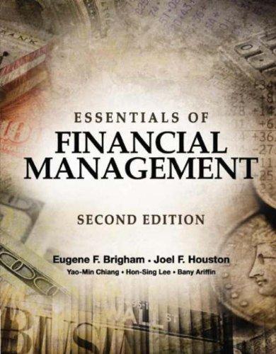 Essentials of Financial Management: NA