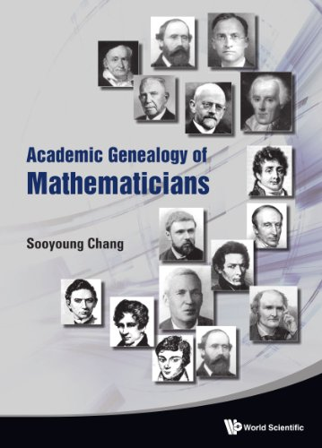 9789814282291: Academic Genealogy of Mathematicians