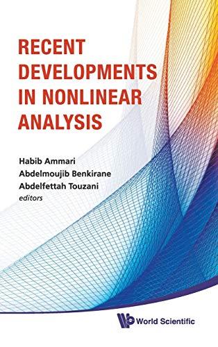 Recent Developments in Nonlinear Analysis: Proceedings of: Habib Ammari, Abdelmoujib