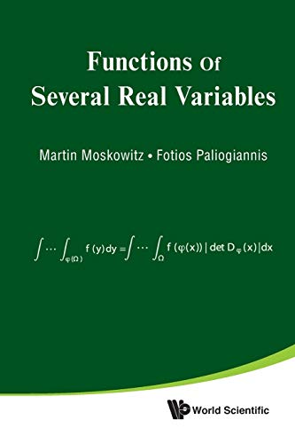 9789814299275: Functions Of Several Real Variables