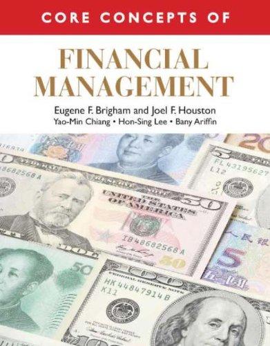 9789814319423: Core Concepts of Financial Management