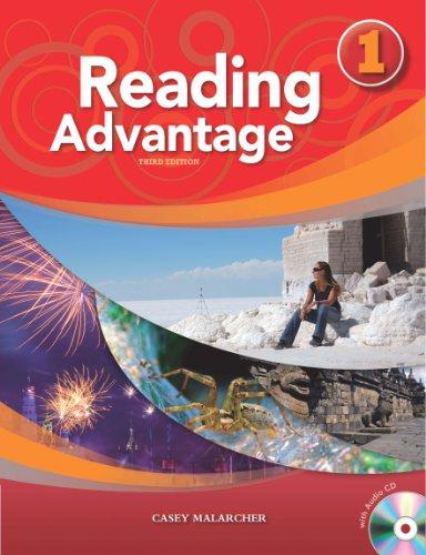 Reading Advantage Student Book 1 (with Audio: Casey Malarcher