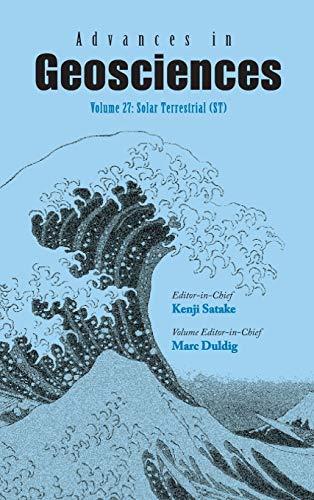 Advances in Geosciences-- Volume 27: Solar Terrestrial (ST): Marc Duldig