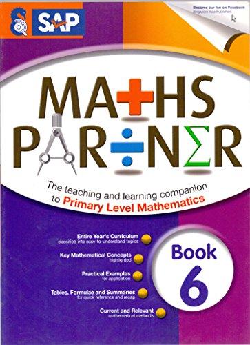 9789814357111: SAP Maths Partner Book 6