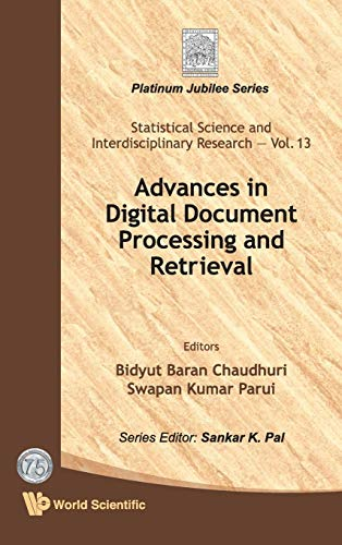 9789814368704: Advances in Digital Document Processing and Retrieval (Statistical Science and Interdisciplinary Research)