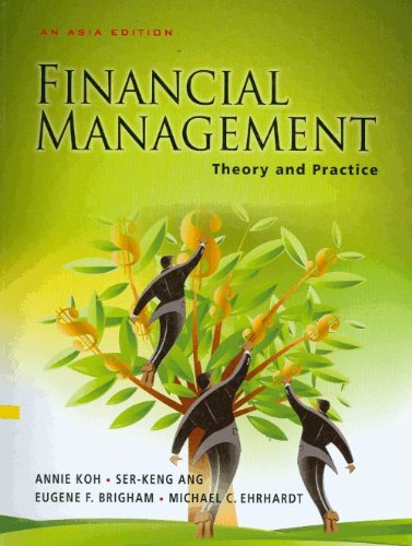 Financial Management Theory and Practice (An Asia: brigham