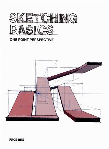 9789814394277: Sketching Basics: One Point Perspective