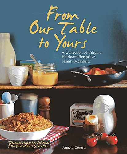 9789814398565: From Our Table to Yours: A Collection of Filipino Heirloom Recipes & Family Memories