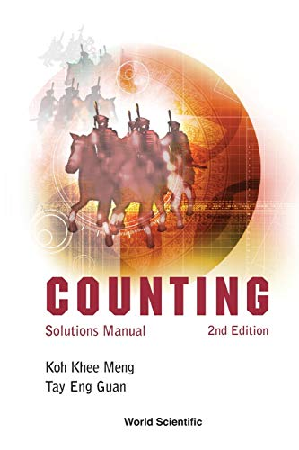 Counting: Solutions Manual, 2nd Edition: Koh, Khee-Meng