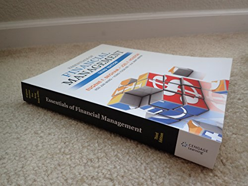 Essentials of Financial Management Third Edition: NA