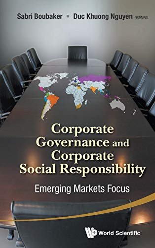 9789814520379: Corporate Governance and Corporate Social Responsibility: Emerging Markets Focus