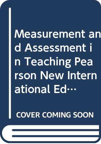 9789814526814: Measurement and Assessment in Teaching Pearson New International Edition