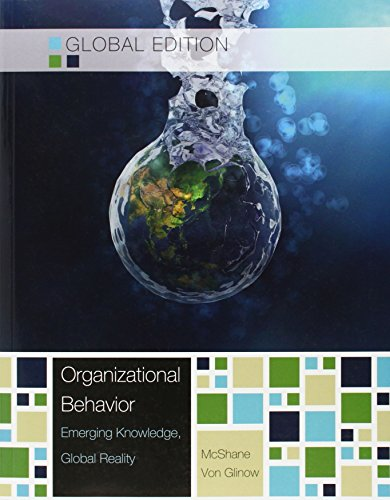 9789814575423: Organizational Behavior, Global Edition: Emerging Knowledge, Global Reality