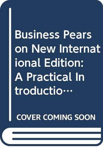 9789814576239: Business Pearson New International Edition: A Practical Introduction