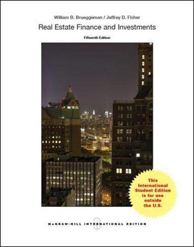 9789814577052: REAL ESTATE FINANCE AND INVESTMENTS