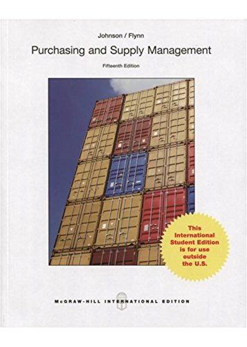 9789814577229: Purchasing and Supply Management (Int'l Ed)