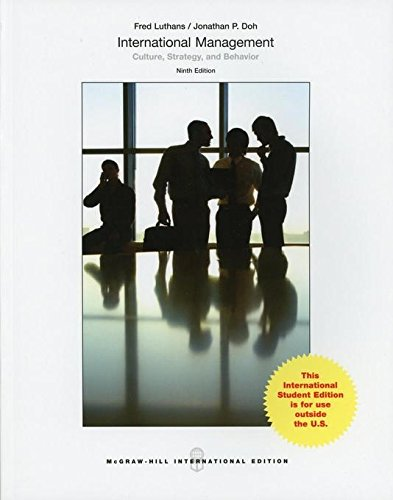 9789814577298: International Management: Culture, Strategy, and Behavior (Asia Higher Education Business & Economics Management and Organization)