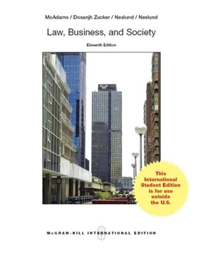 9789814577311: Law, Business and Society