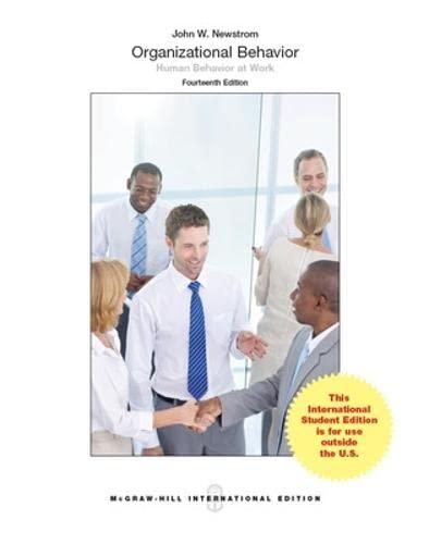 9789814577335: Organizational Behavior: Human Behavior at Work