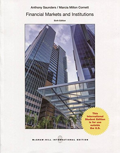 9789814577434: Financial markets and institutions