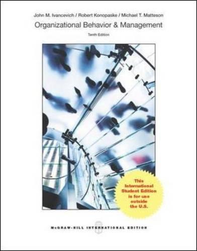 9789814577908: Organizational Behavior and Management