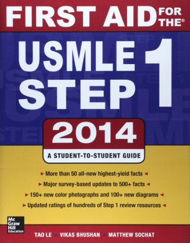 9789814581356: First Aid for the USMLE Step 1 2014