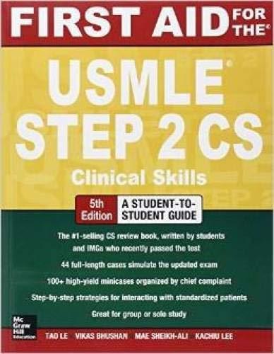 9789814581363: First Aid for the USMLE Step 2 CS, 5e