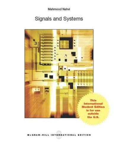 9789814581868: Signals & Systems