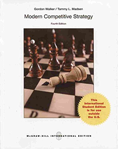 9789814636292: Modern Competitive Strategy