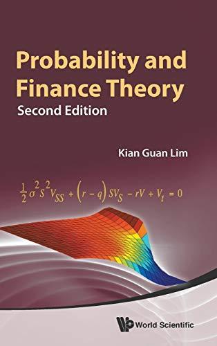 Probability and Finance Theory 2nd Edition: Lim, Kian Guan