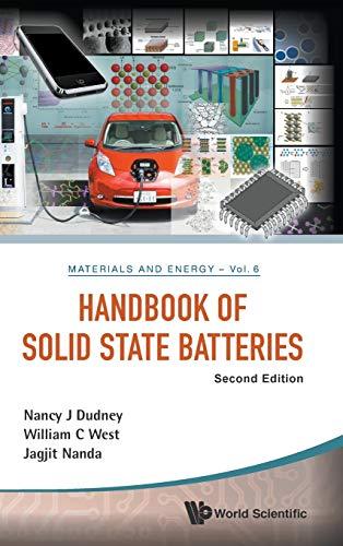 Handbook Of Solid State Batteries (Hardcover): Nancy J. Dudney