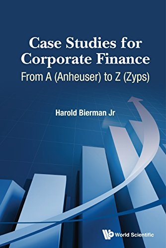 9789814667012: Case Studies for Corporate Finance: From A (Anheuser) to Z (Zyps) (In 2 Volumes)