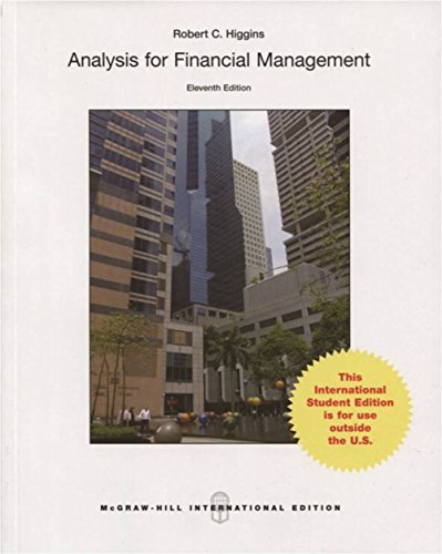 9789814670159: Analysis for Financial Management