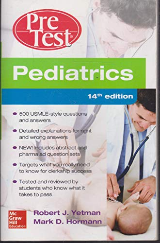 9789814670210: Pediatrics PreTest Self-Assessment And Review, 14th Edition