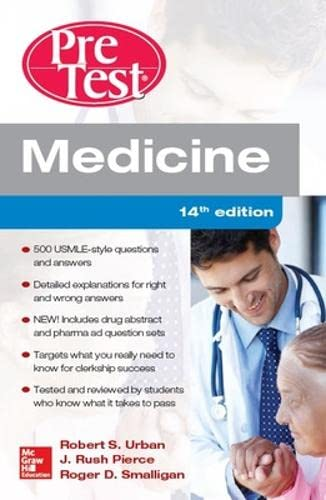 9789814670227: Medicine Pretest Self-Assessment and Review
