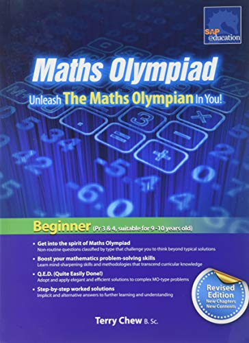 SAP Maths Olympiad Beginner Revised Edition 2015: Terry Chew